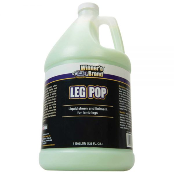 leg pop gallon