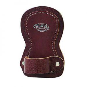 leather number holder brown